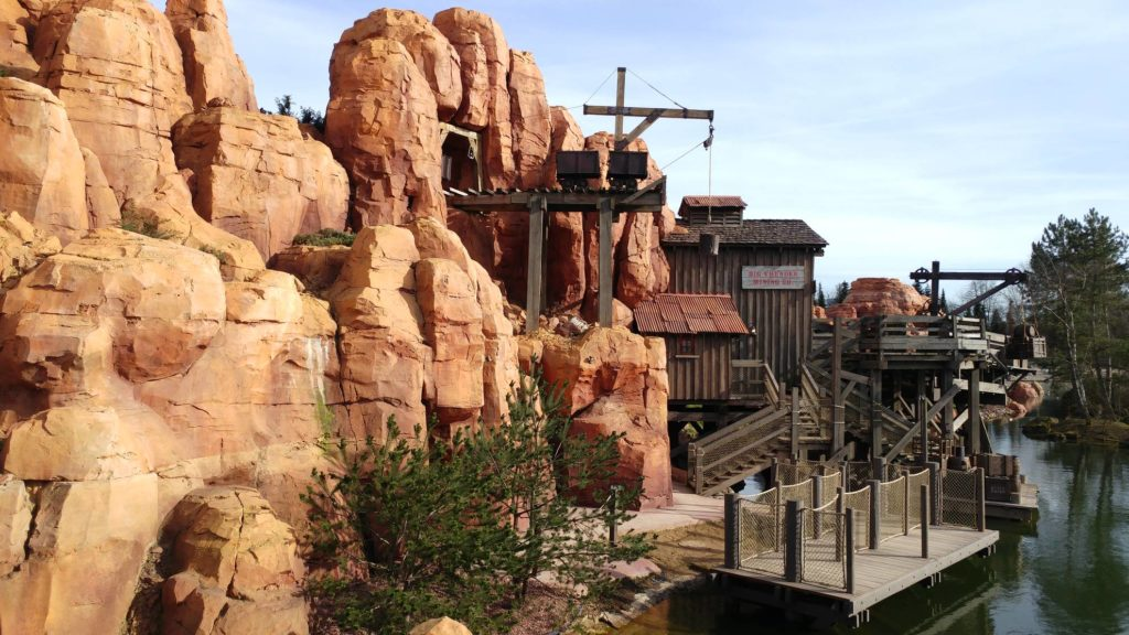 Big Thunder Mountain Mining Co Canyon