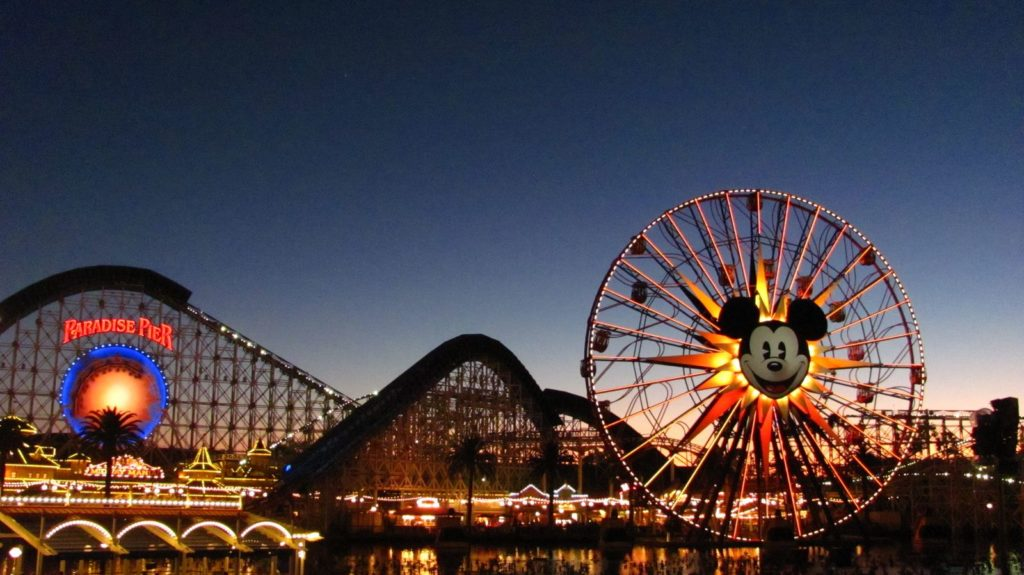 grande roue disney california