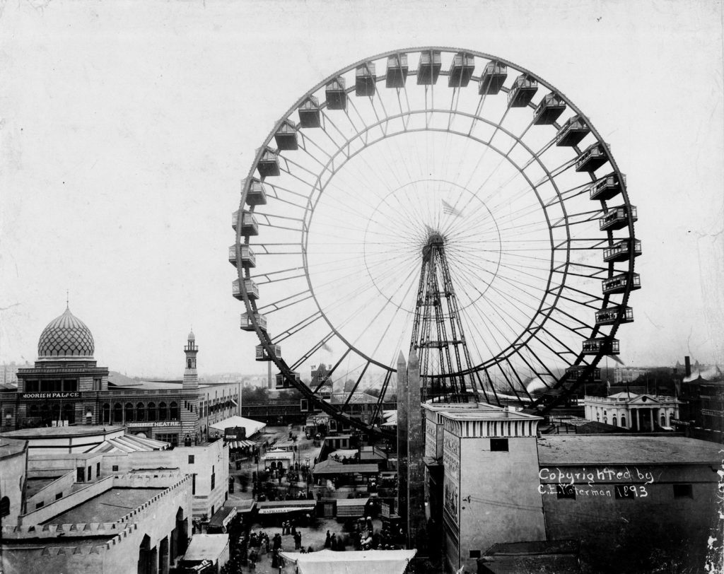 ferris wheel grande roue chicago 1893