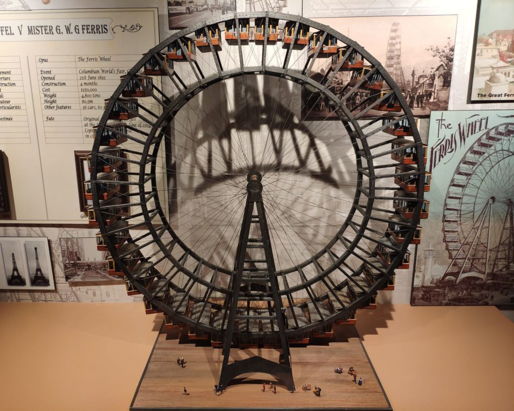 reproduction ferris wheel miniature
